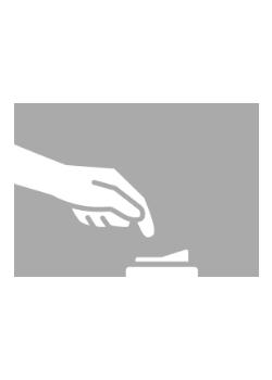Drukschakelaar grijs