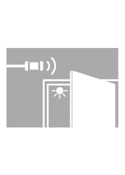 Deur-sensorschakelaar led