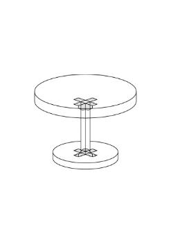 Hoekbeslag tafel