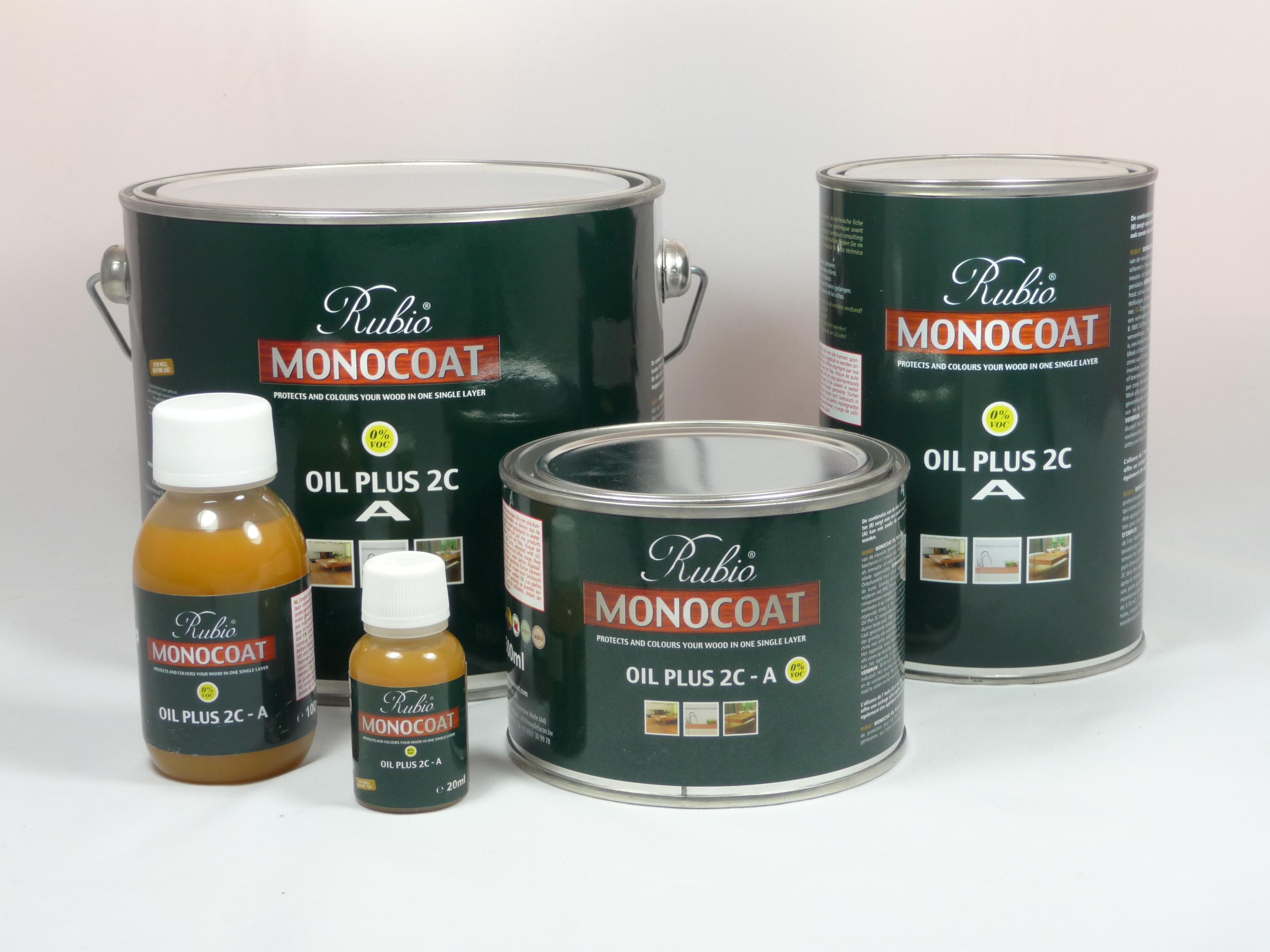 Rubio Monocoat Ash Grey Oil Plus 1C